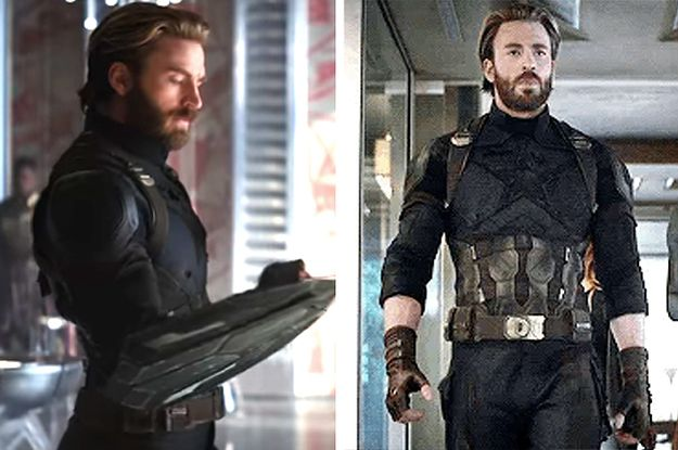 "People Are Freaking Out Over Chris Evans And His Beautiful Face In The New ""Infinity War"" Trailer"
