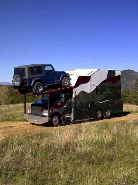 522 Best Images About Truck Motorhome Conversions On
