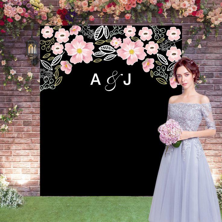 Wedding Photo Booth Backdrop: Wedding Backdrop,wedding Blackboard,wedding Photocall
