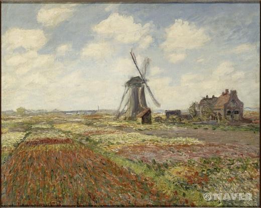 네덜란드의 튤립 꽃밭 (Champs de tulipes en Hollande)