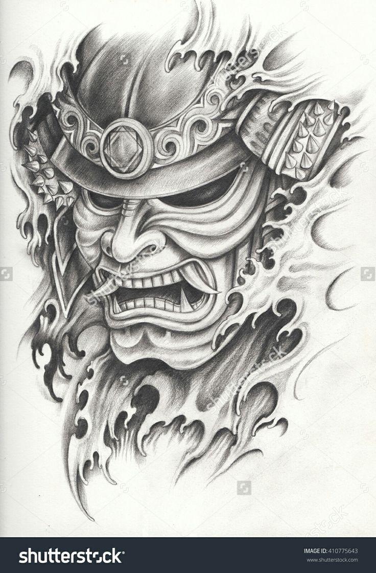 Fi fireman tattoo designs - Yakuza Tattoo S Tattoo Tattoo Flash Koi Tattoo Sleeve Hannya Mask Tattoo Samurai Warrior Tattoo Warrior Tattoos Soldier Tattoo Tattoo Japanese