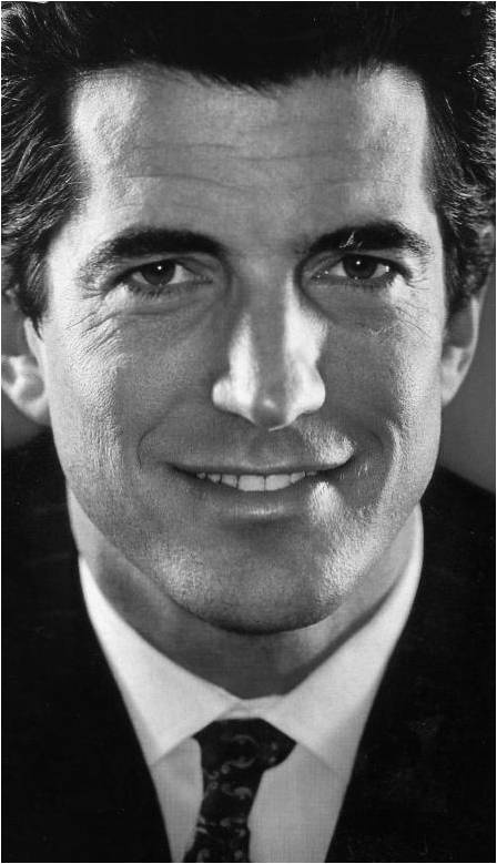 JFK Jr. -  John was a stunning combination of both of his parents.  So incredibly handsome and truly a class act.