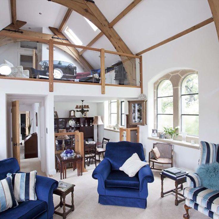 Blue Open-plan living room design ideas ~ http://www.lookmyhomes.com/open-plan-living-room-design-ideas/