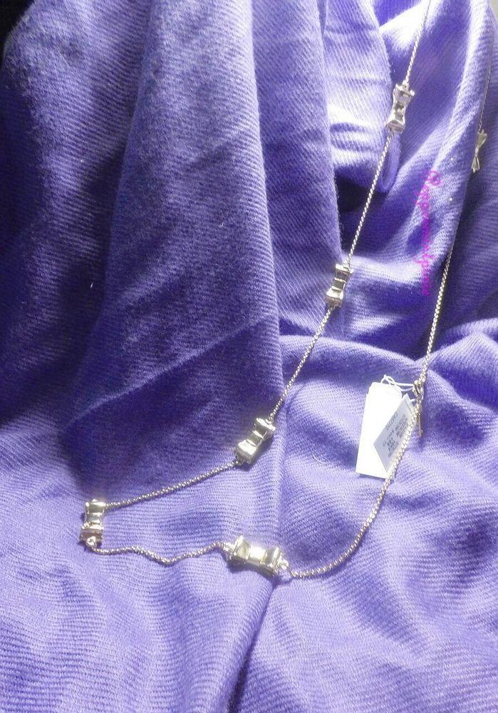 kate spade  Moon River Scattered Golden Bow Necklace-Gorgeous  00ru0857 New SALE #katespade #PendantNecklace