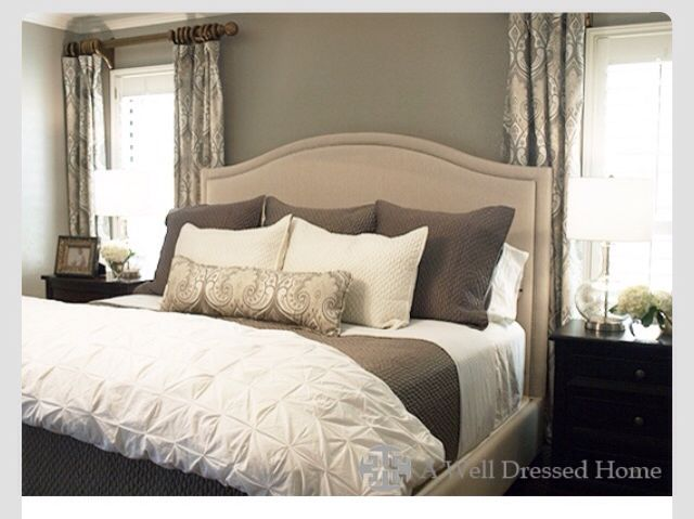 Curtain style & Bedding/colors I want to incorporate. Only instead of a lumbar pillow I want sequin pillows