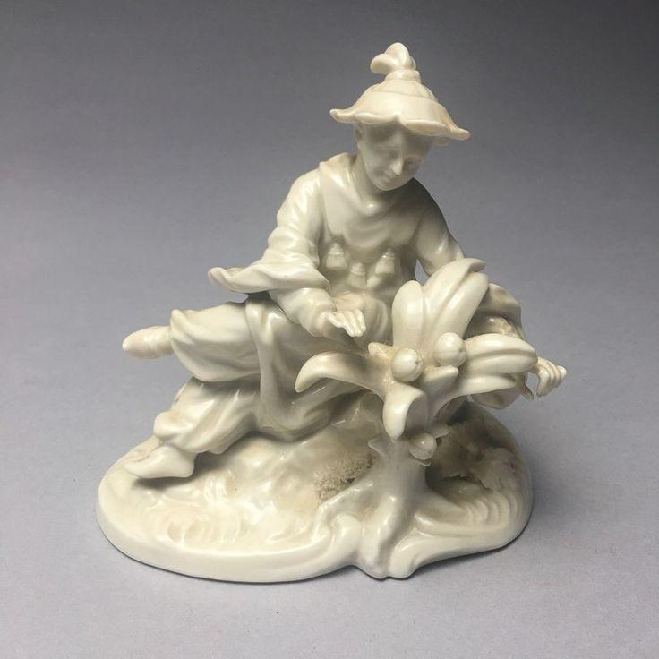 Fine Nymphenburg Blanc De Chine Porcelain Figurine Of Oriental Man    eBay