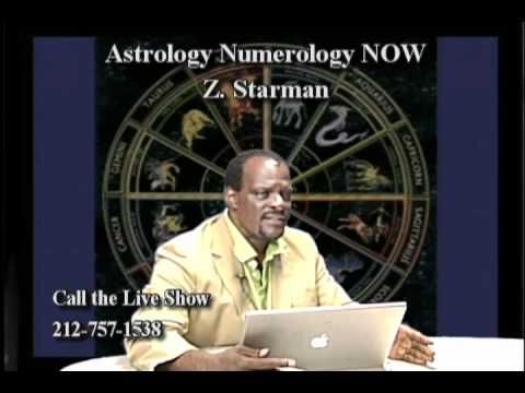 Z.. STARMAN takes calls from his viewers. on ASTROLOGY NUMEROLOGY NOW hosted by Z. STARMAN …