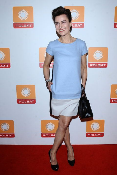 Polish actress Danuta Stenka, spring and fresh look :)