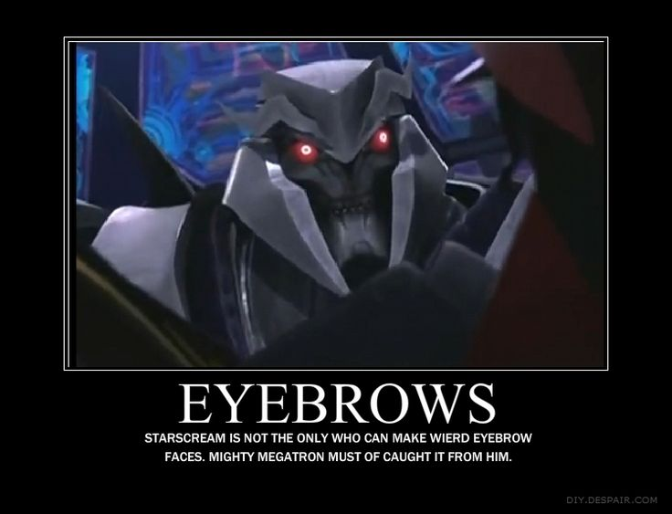 funny+transformers+prime+Soundwave | megatrons_eyebrows_by_lordstar