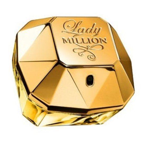 Paco Rabanne Lady Million for Women - 80 ml - Eau de parfum  Ultravrouwelijk, besluitvaardig en glamoureus, dat is de Lady Millionvrouw. Het is een frisse, bloemige en houtachtige geur. Kortom, een musthave voor iedere vrouw! Top: Neroli, Amalfi citroen en Framboos. Midden: Jasmijn, Afrikaanse sinaasappelbloesem en Gardenia. Basis: Patchouli en Witte honing.