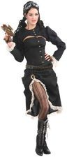 Steampunk Saloon Girl Halloween Holiday Costume Party (Size: Standard)