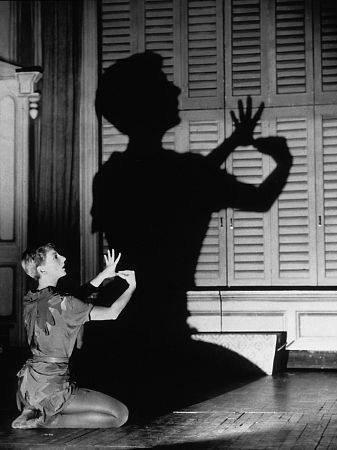 Mary Martin in Peter Pan (1960).....great movie if you can find it!! :)