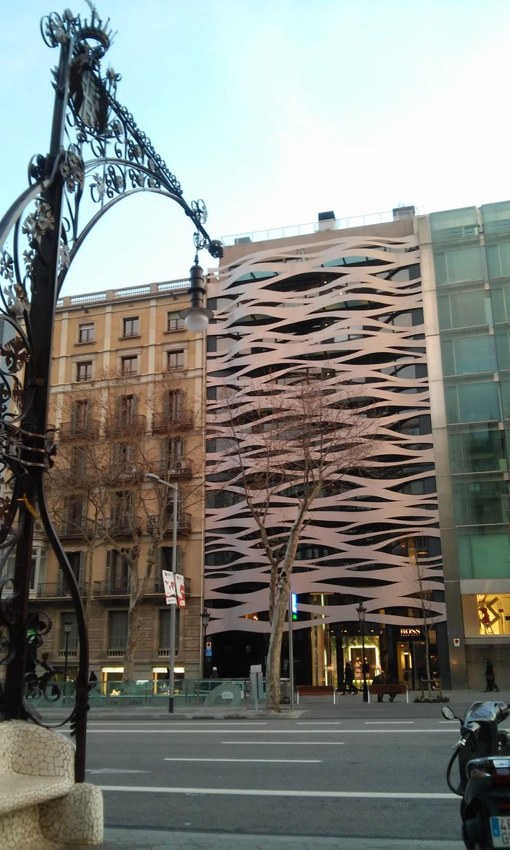 Passeig de Gracia offers great views. At every single step!