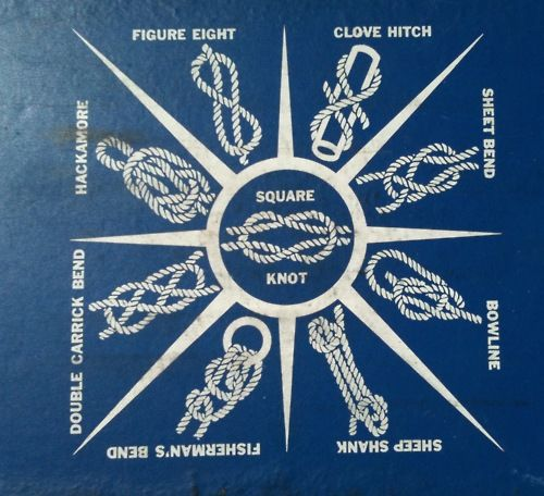 knots for a sailor or a survivalist that likes to know these things