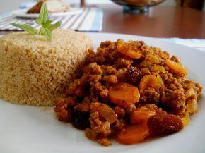 Carne Picada con Vegetales, Carne Molida Guisada