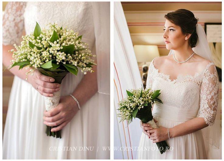 #bride #nataliavasilievdress #weddingdress #lilyofthevalley #weddingbouquet