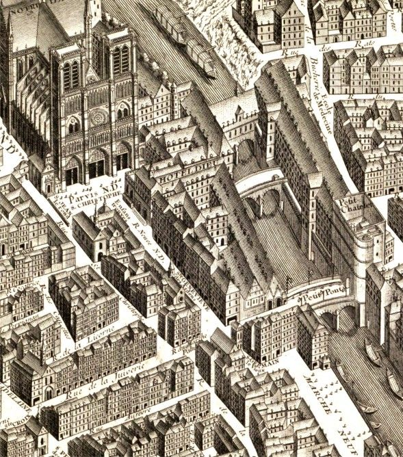 Plan de Turgot Ile de La Cite | Culture & Stuff Marie-Louise Jansson