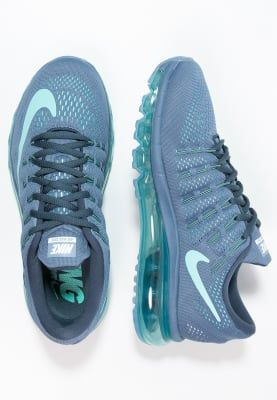 Nike Performance AIR MAX 2016 - Neutrala löparskor - ocean fog/hyper turquoise/squadron blue - Zalando.se
