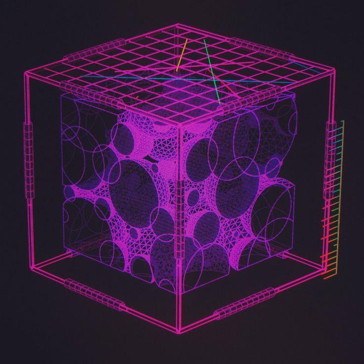 """Quantum Foam Samples ///  #hologram #interface #ui #ux #scifi #houdini"""