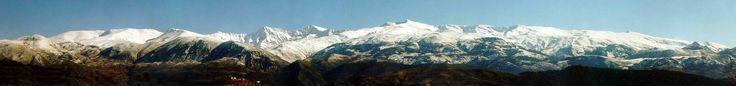 Panoramica de #SierraNevada #Granada #Andalucia  #Mulhacen