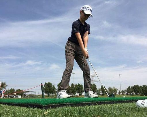 dubai junior golf tournament