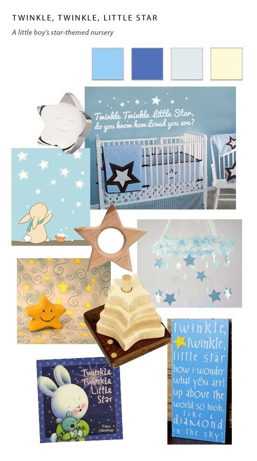 Star Themed Nursery Collage Nursery Bedroom Ideas