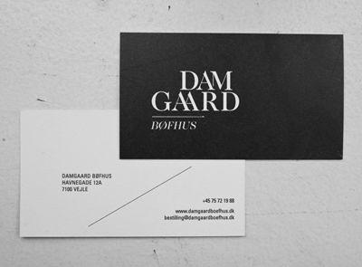 scandinavian biz card