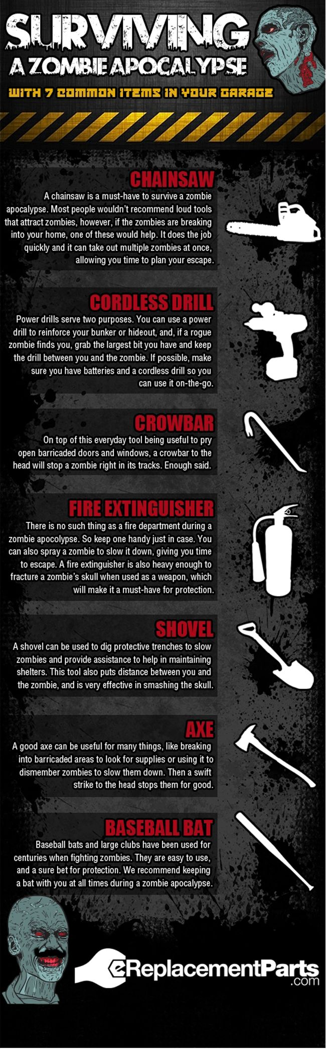 zombies...infographic style