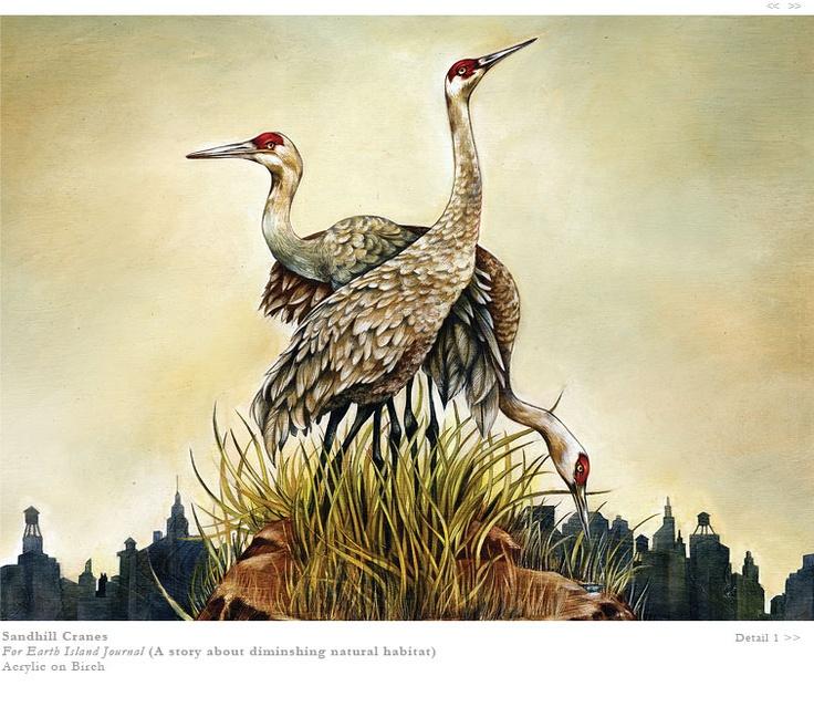 Sandhill Cranes By Lisel Ashlock Art Pinterest