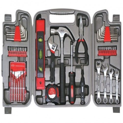 Household Tool Kit Hand Set 53 Pc Car Office Garden In Out Door Furniture Repair #HouseholdToolKit