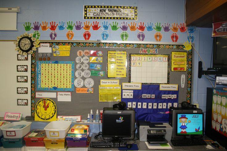 Calendar Math Ideas Nd Grade : Math wall nd grades and classroom ideas on pinterest