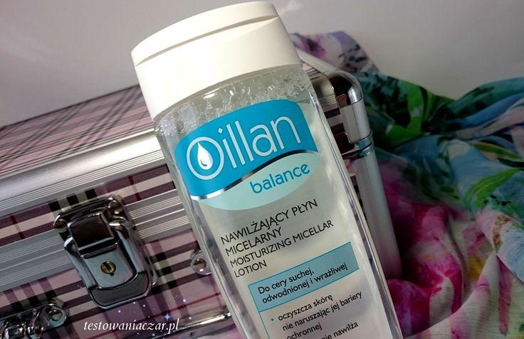 testowaniaczar: Nawilżający płyn micelarny Oillan balance