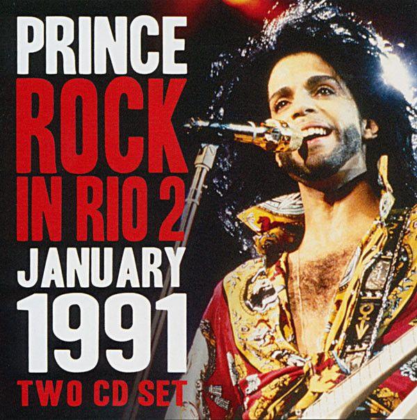 Rock In Rio 2 1991 - Prince, CD