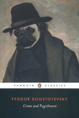 1. Fyodor Dogstoyevsky: | 22 Literary Pun Names For Your Dog