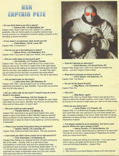 Rare interview with Apollo 12 Astronaut Pete Conrad, the third man to walk on the Moon.