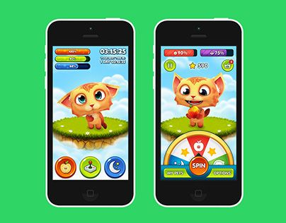 """Check out new work on my @Behance portfolio: """"Pets (UI Prototype)"""" http://on.be.net/1IRMr8r"""