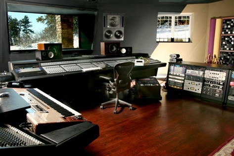 So I can have a nice recording studio!