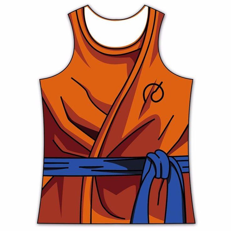 Resurrection F Whis Symbol Goku Gi Outfit 3D Tank Top