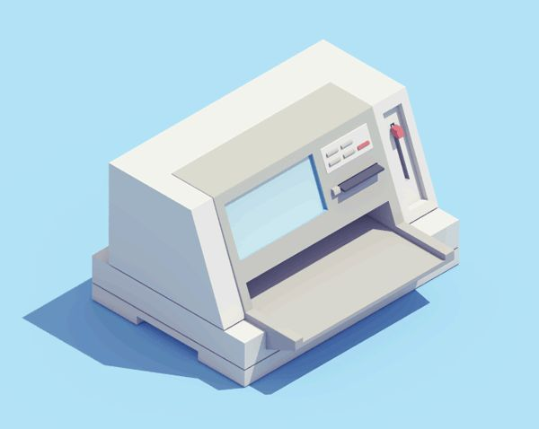Animated Illustrated GIFs Pay Tribute To Retro, Iconic Devices Of The '90s - DesignTAXI.com