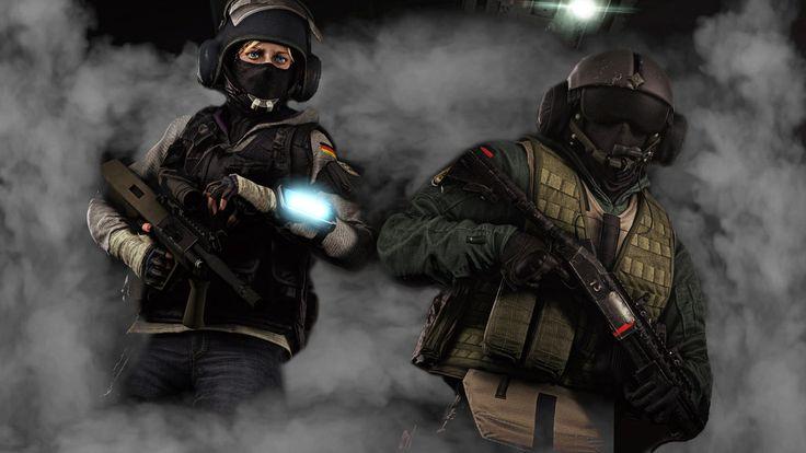 Rainbow Six Siege, IQ, Jäger Rainbow 6 seige, Rainbow