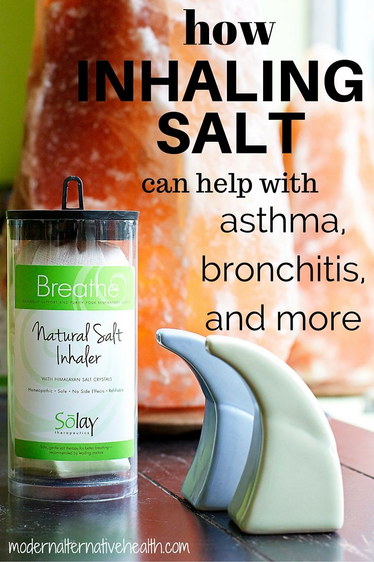 How Inhaling Salt Can Help with Asthma, Bronchitis, and More