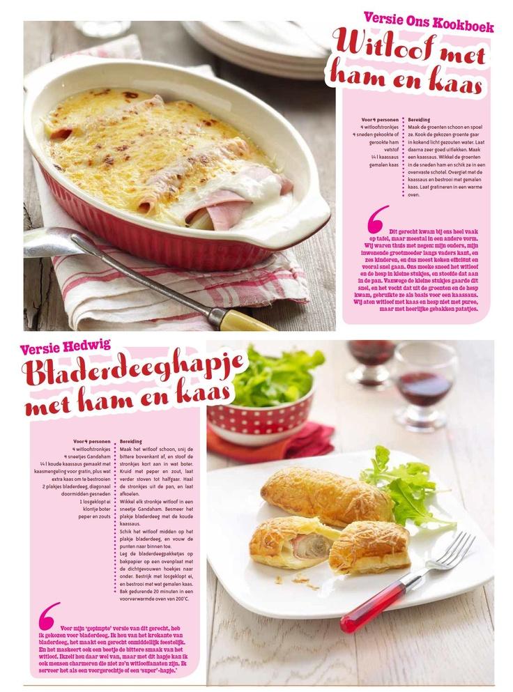 Recept witloof met kaas en hesp