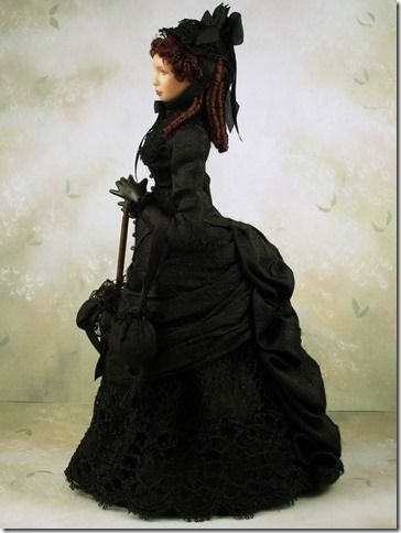 """The Spectacular """"Victorian Mourning Doll""""."""