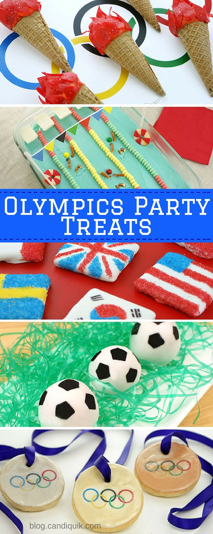 20+ Olympic Themed Treats for Rio 2016!! blog.candiquik.com