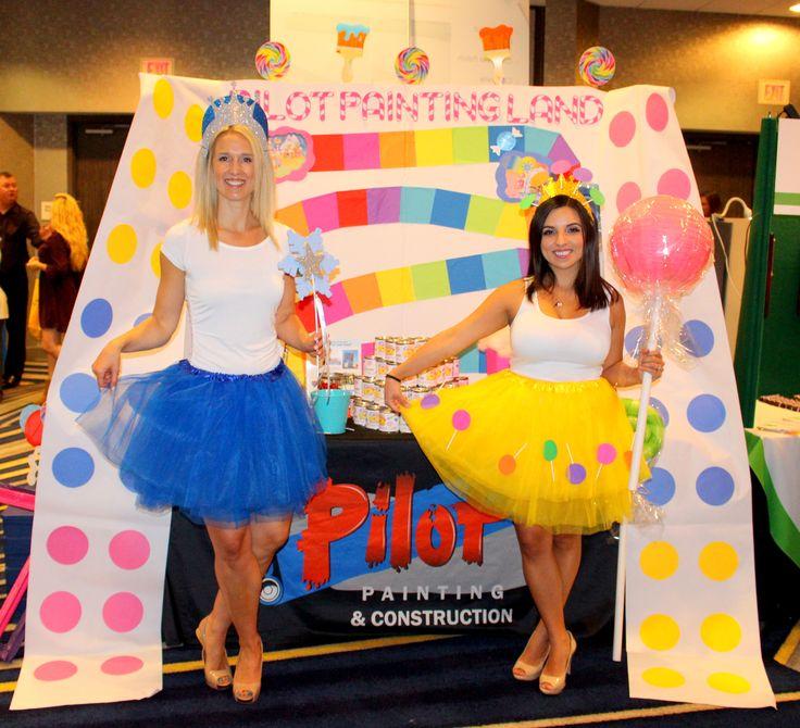 A Sweet Affair! Candyland theme. #Candyland #decor #tradeshowbooth #sweetaffair…