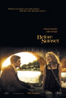 Before Sunset. Super-talky films, but, hey...these characters are exactly my age, going through the motions almost in real time.