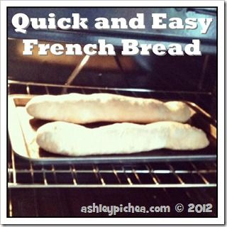 Quick and Easy French Bread recipe: