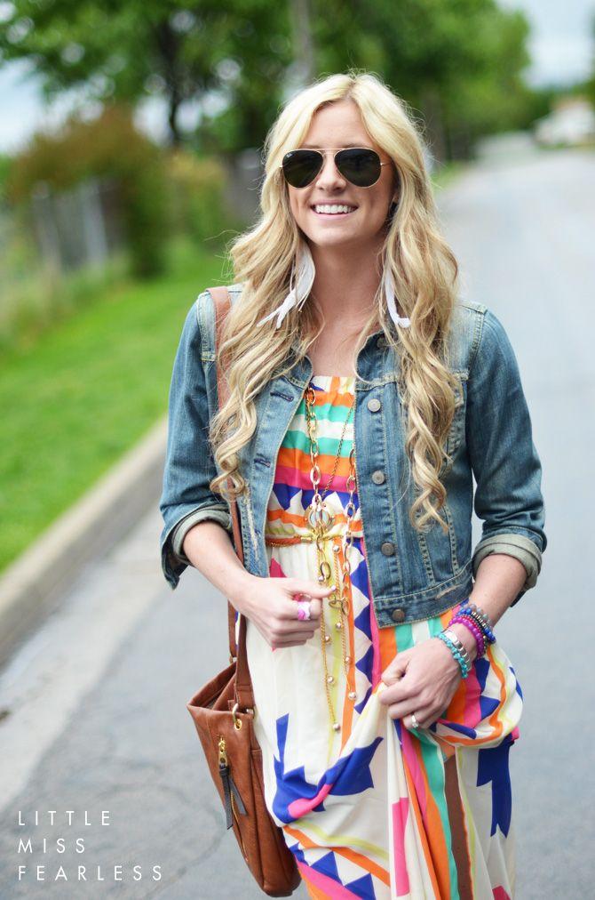 Little Miss Fearless: Four Ways to Wear: Maxi Festival Fashion