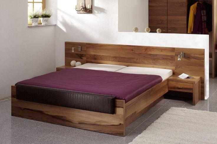 PARADIES Doppelbett / Einzelbett / Hotelbetten Kernbuche  180 x 200 | Kernbuche