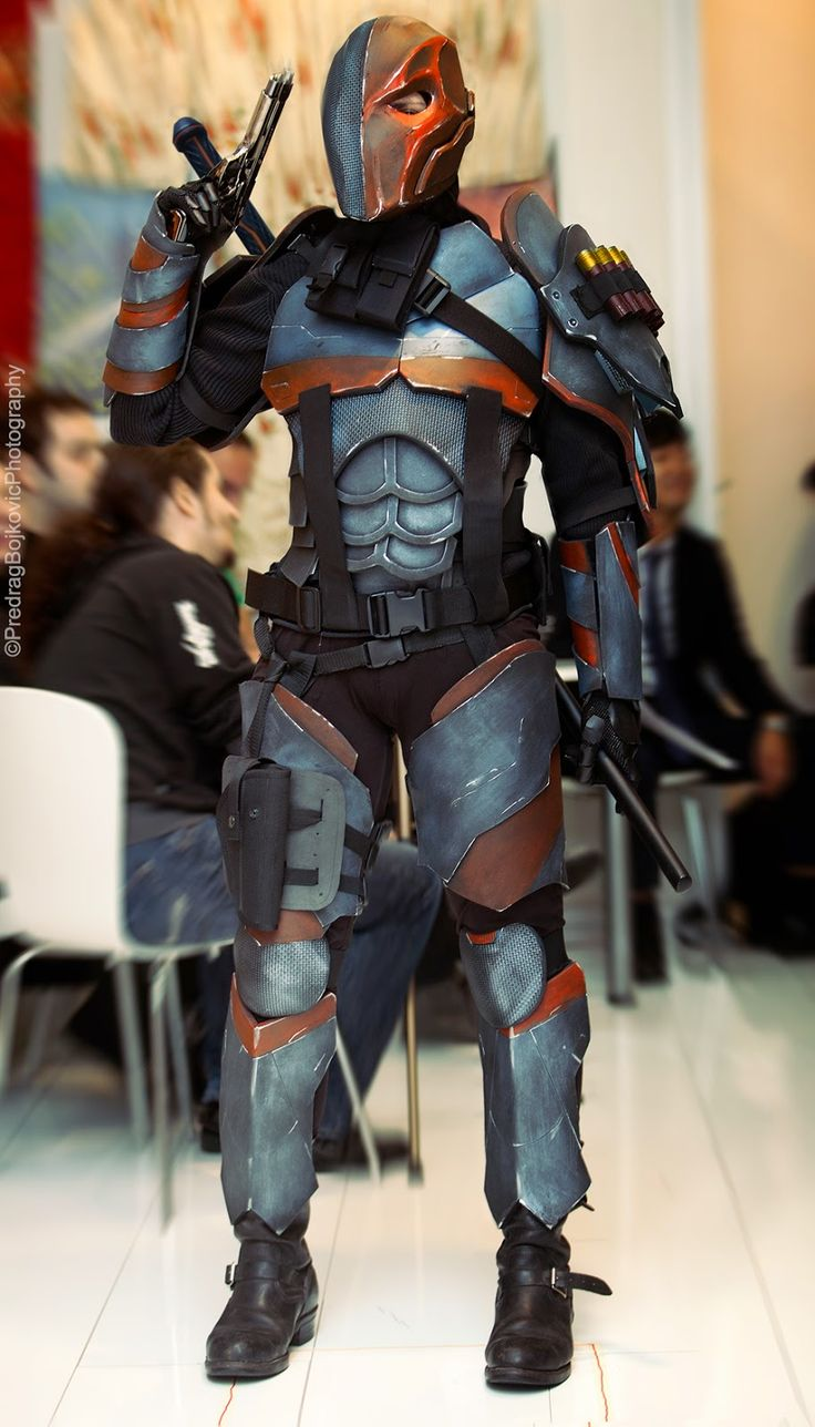 7 best ideas about dc cosplay deathstroke on pinterest for Deathstroke armor template